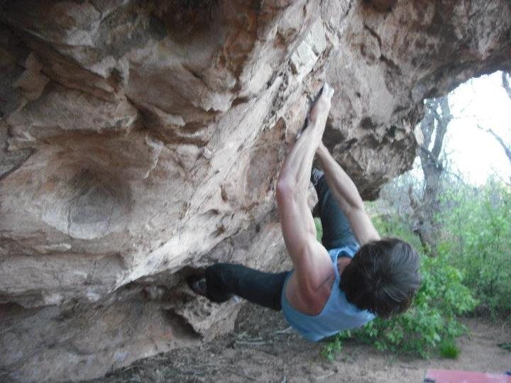 Garden of the Gods Bouldering