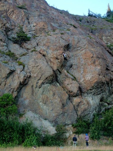 Rock Climbing Photo: Sunshine Ridge