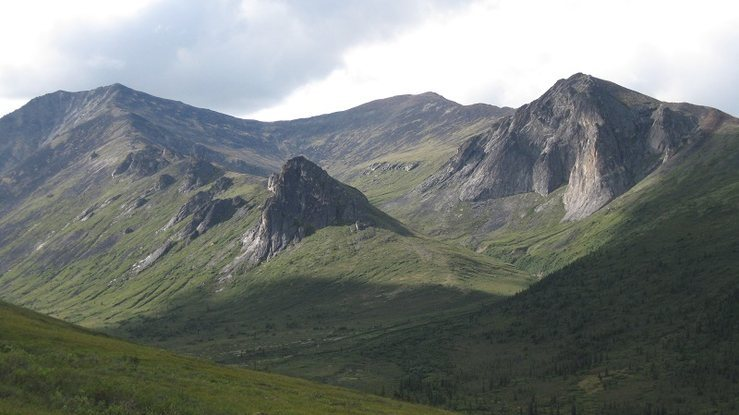 Mount Prindle: Main Wall, SE Buttress, East Tower, 4000ft tors, and 300ft Wall.