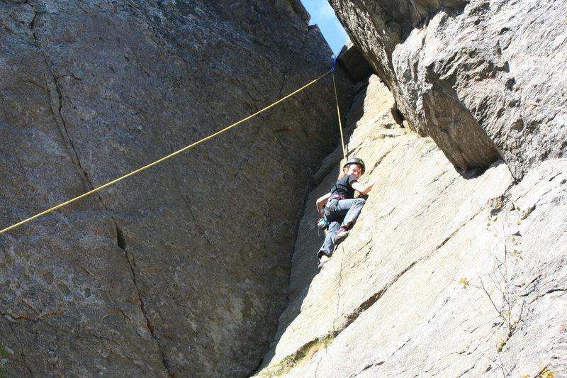 11 y/o Indigo climbs like like the monkey she is!!!!!