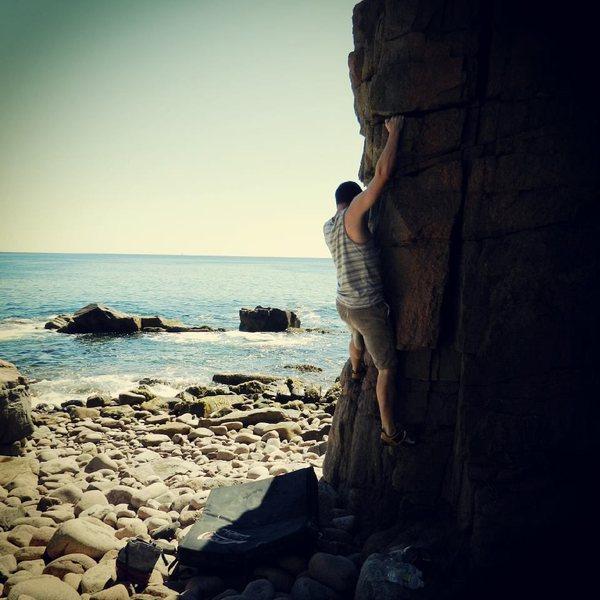 Rock Climbing Photo: Fun arete