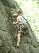 Rock Climbing Photo: Not the best picture but you get the idea