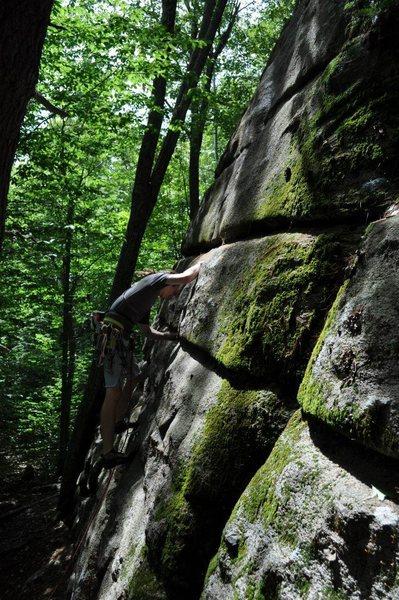 Rock Climbing Photo: A fun climb