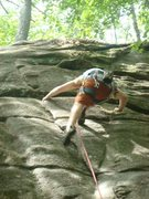 Rock Climbing Photo: Crux, sorry bout the poor photo quality