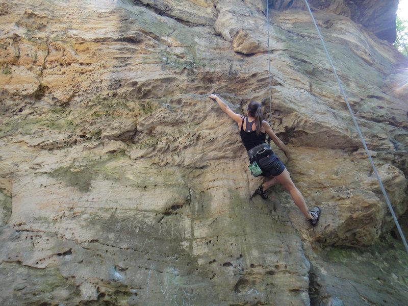 Rock Climbing Photo: DW on Double O