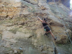 Rock Climbing Photo: DW on Double O