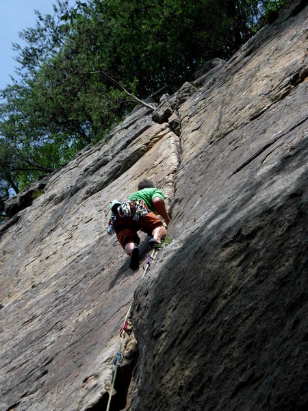 Rock Climbing Photo: lovin this climb