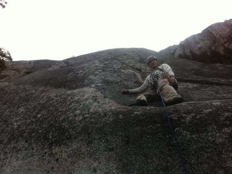Rock Climbing Photo: Standing on top of the Boomstick