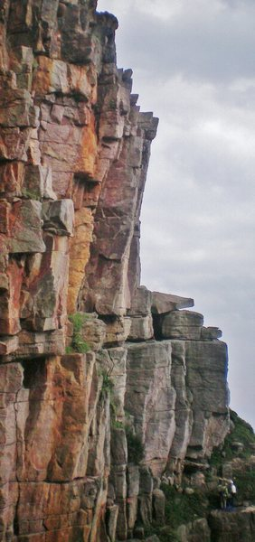 Rock Climbing Photo: 1st pitch and the left arete visible from Freedom ...