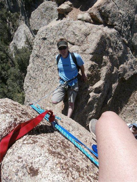 "Rock Climbing Photo: The ""W"""