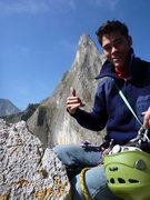 Rock Climbing Photo: El Potrero Chico, Time wave Zero in Background