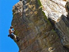 Rock Climbing Photo: Matt Pickren givin'er.