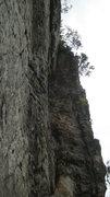 Rock Climbing Photo: Nice left facing corner that eats up pro and provi...
