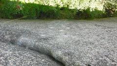 Rock Climbing Photo: Follow the white dots