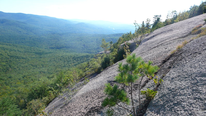 Rock Climbing Photo: Looking back towards the Dark Side.