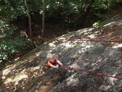 Rock Climbing Photo: Zackary on Feild Goal
