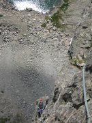 Rock Climbing Photo: Looking down on that ledge everyone is talking abo...