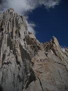 Rock Climbing Photo: Jake on Fishhook Arete (5.9)