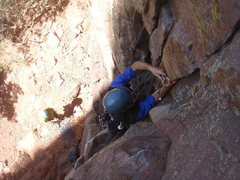 Rock Climbing Photo: 0.4 was basically right where this dude's right ha...