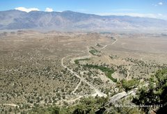 Rock Climbing Photo: View of the valley and Whitney Portal Road
