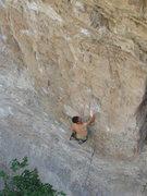 Rock Climbing Photo: chris down low.