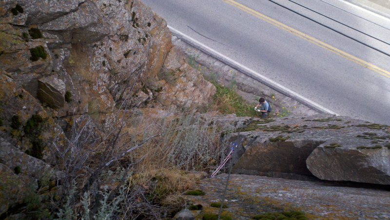 Rock Climbing Photo: slightly different start