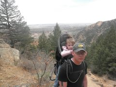 hiking the incline