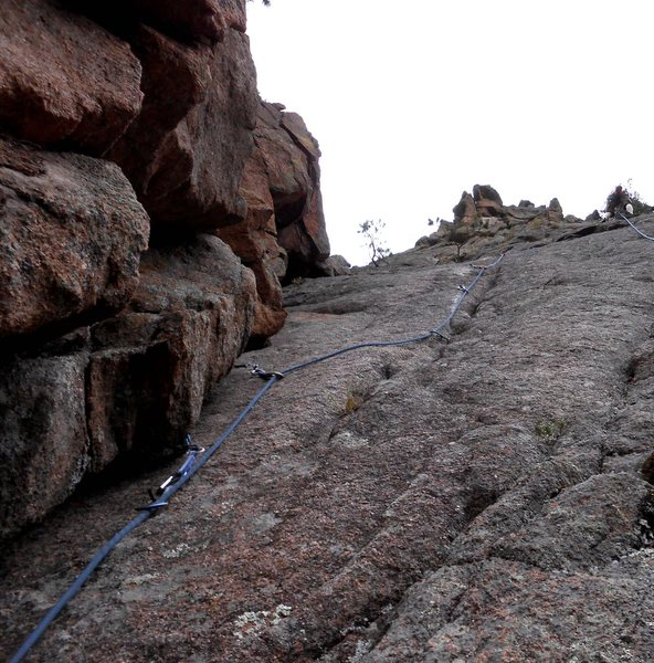 Rock Climbing Photo: Plenty of pro on this one!