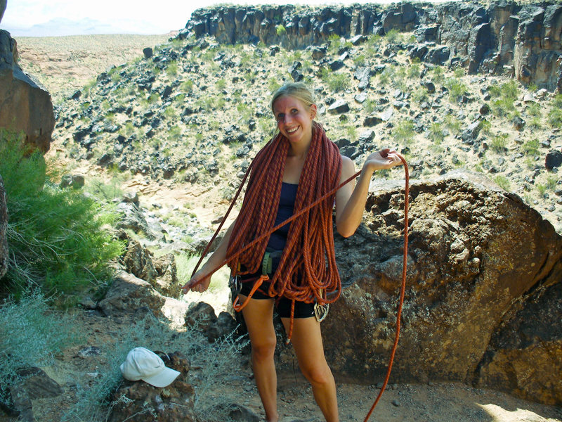 Rock Climbing Photo: Me and the rope