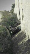 Rock Climbing Photo: Joshua Tree Climbing Trip '12 ~ Belay Monkey