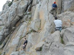 Rock Climbing Photo: Mission Gorge  ~ Lunch Rock