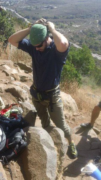 Rock Climbing Photo: Getting Ready..