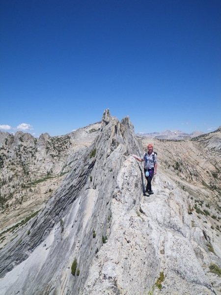Rock Climbing Photo: matthess crest, tuolomne