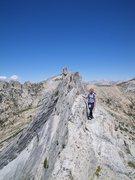 Rock Climbing Photo: matthess crest, tuolomne