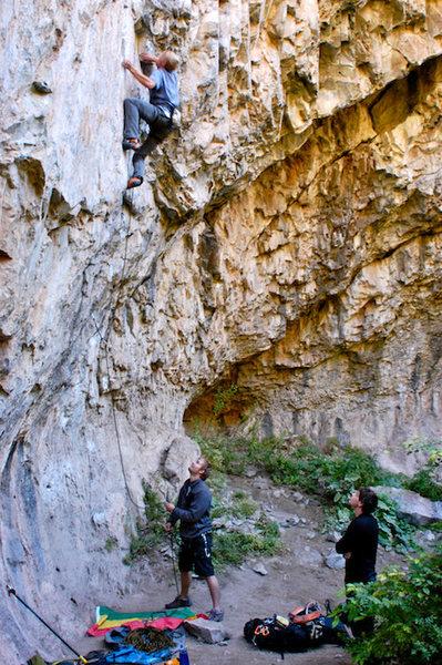 Rock Climbing Photo: Fossil Family 12a, Rifle