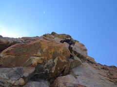 Rock Climbing Photo: The Foil RMNP. Labor Day 2012 with Jordon Griffler...