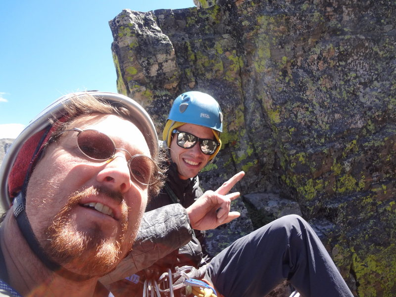 Rock Climbing Photo: The Foil RMNP. Labor Day 2012 with Jordon Griffler...
