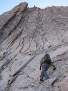 Rock Climbing Photo: The second half of the route is directly above Lis...