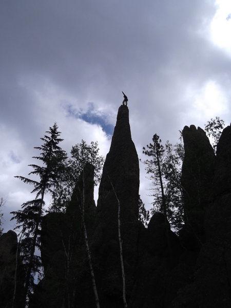 Rock Climbing Photo: Super Pin