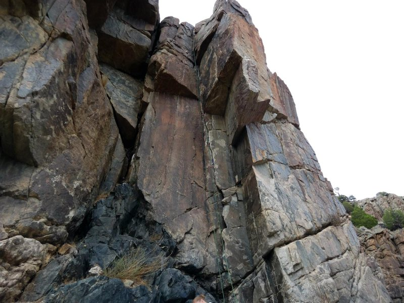 Rock Climbing Photo: Horn of Plenty