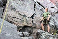 Rock Climbing Photo: Brinton's Crack