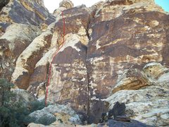 Rock Climbing Photo: The Boldness 5.9