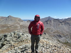 Rock Climbing Photo: On Unnamed 13,462' B.