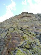 Rock Climbing Photo: The Polycontrast face.