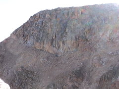 Rock Climbing Photo: Summit buttresses.