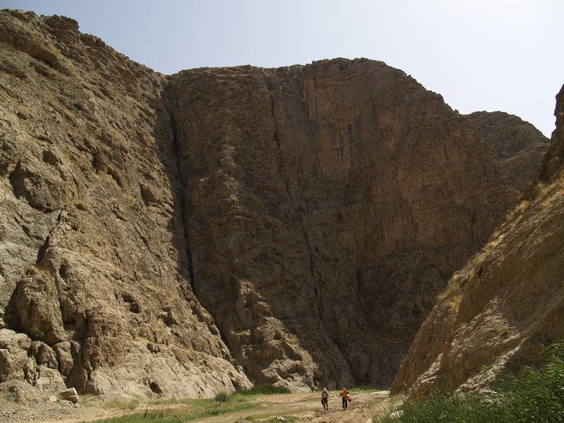 Rock Climbing Photo: iran_khorasan_mashhad_andorokhValley