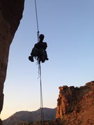 Rock Climbing Photo: Rappel off the monkey face