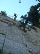 Rock Climbing Photo: Not as steep as people say