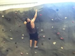 Rock Climbing Photo: Craig gym