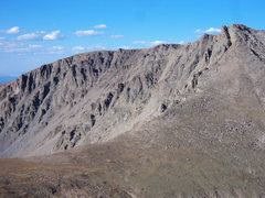 Rock Climbing Photo: Hagues Peak from Fairchild Mt.